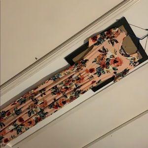 Tara Lynn Boutique Blush Maxi Dress